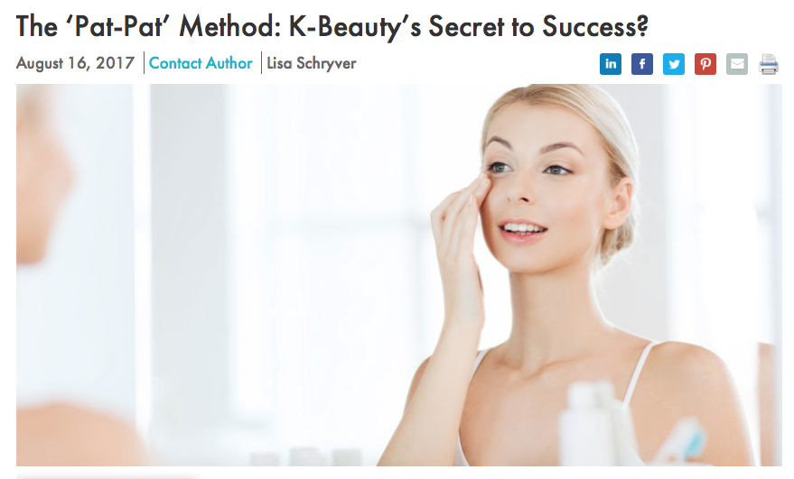 "The ""Pat-Pat"" Method: K-Beauty's Secret to Success?"